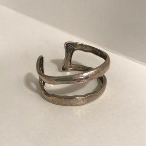 Silpada sterling silver double cuff bracelet